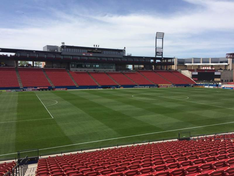 Seating view for Toyota Stadium Section 123 Row 30 Seat 4