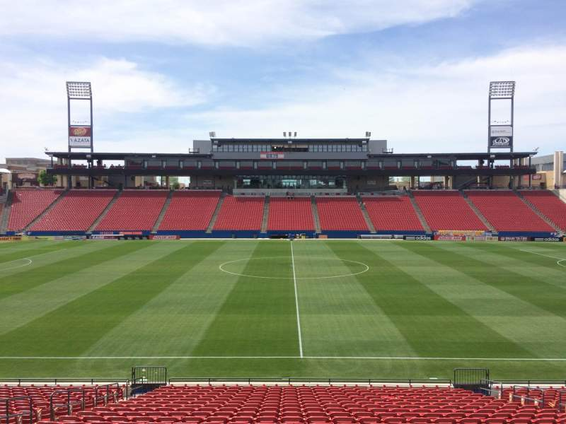 Seating view for Toyota Stadium Section 127 Row 22 Seat 10