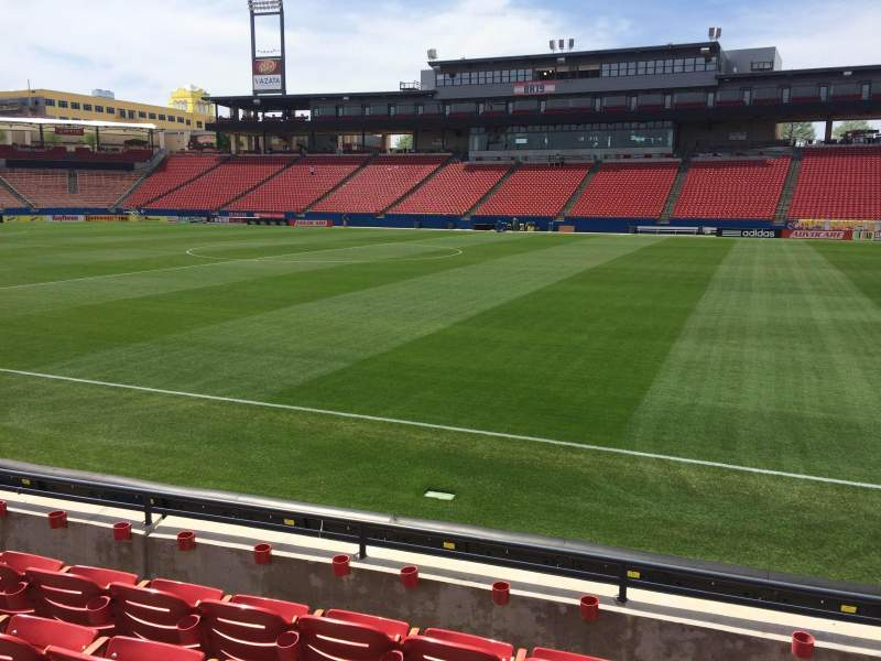Seating view for Toyota Stadium Section 129 Row 5 Seat 19