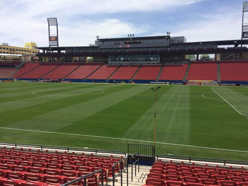 Seating view for Toyota Stadium Section 130 Row 11 Seat 2