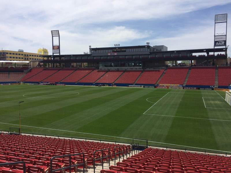 Seating view for Toyota Stadium Section 131 Row 20 Seat 5