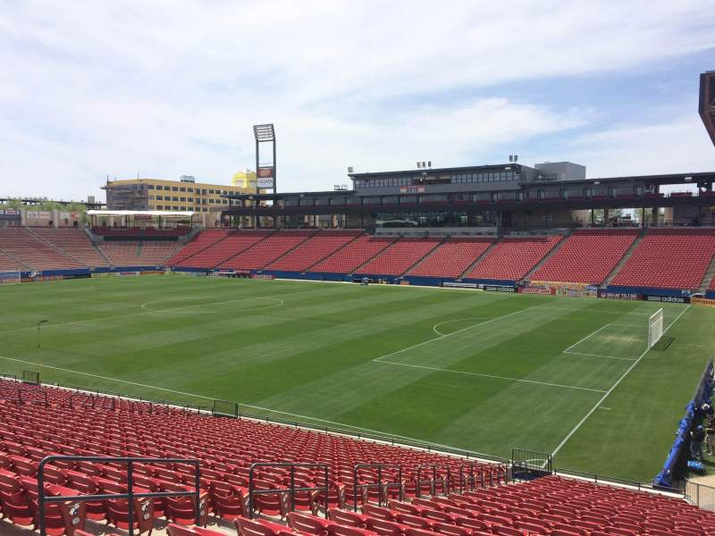 Seating view for Toyota Stadium Section 132 Row 25 Seat 8