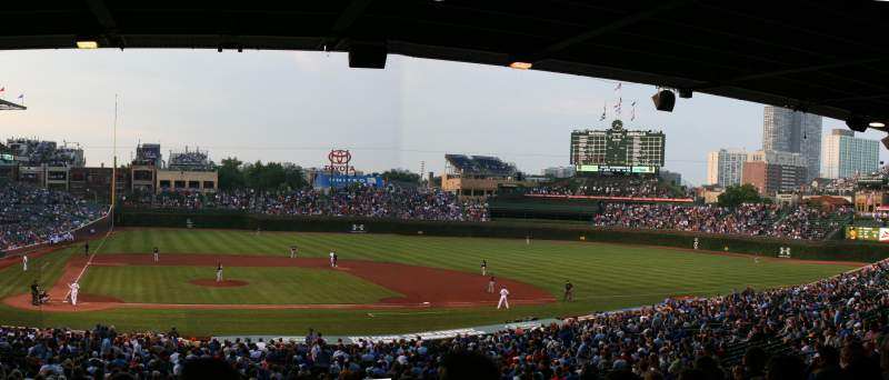 Seating view for Wrigley Field Section 226 Row 14 Seat 7
