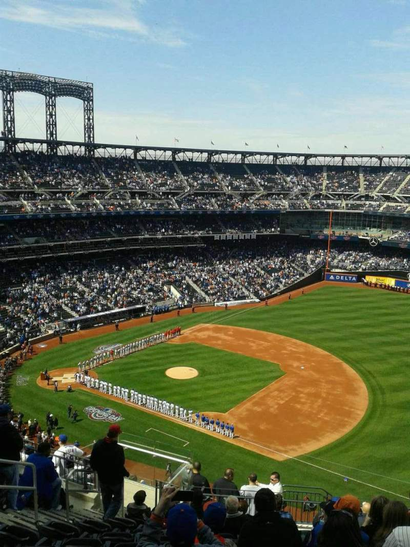 Seating view for Citi Field Section 504 Row 11 Seat 7