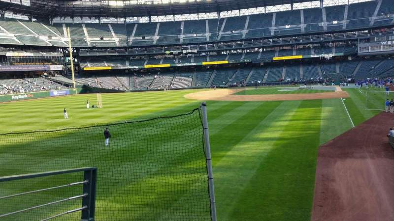 Seating view for Safeco Field Section 151 Row 30 Seat 4