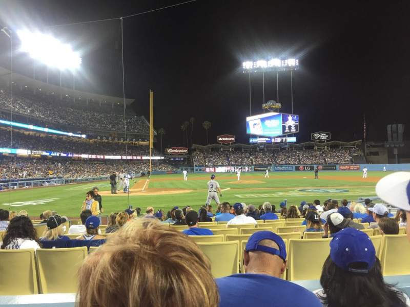 Seating view for Dodger Stadium Section 10FD Row C Seat 6