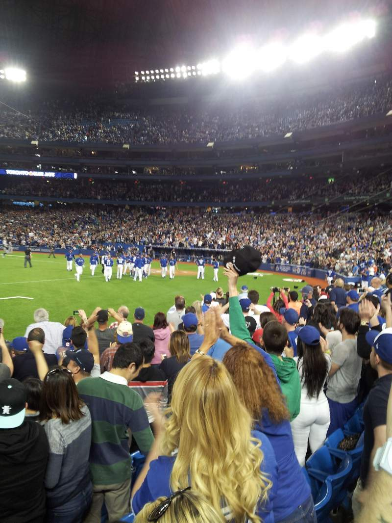 Seating view for Rogers Centre Section 128R Row 7 Seat 3