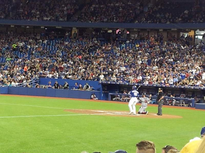 Seating view for Rogers Centre Section 128 Row 7 Seat 3