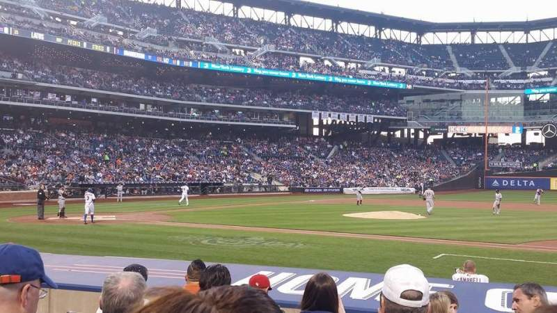 Seating view for Citi Field Section 112 Row 7 Seat 7