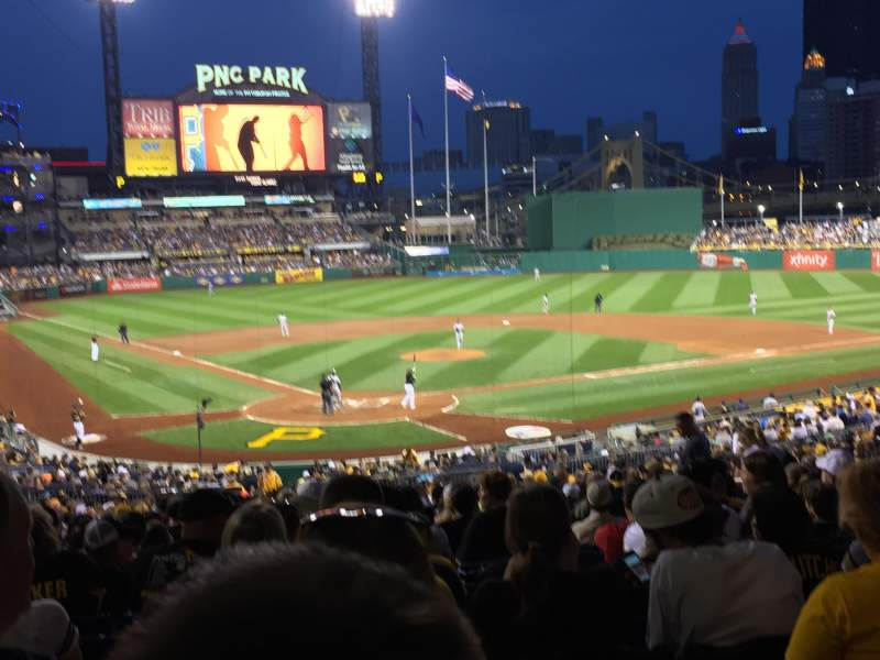 Seating view for PNC Park Section 115 Row Ee Seat 11