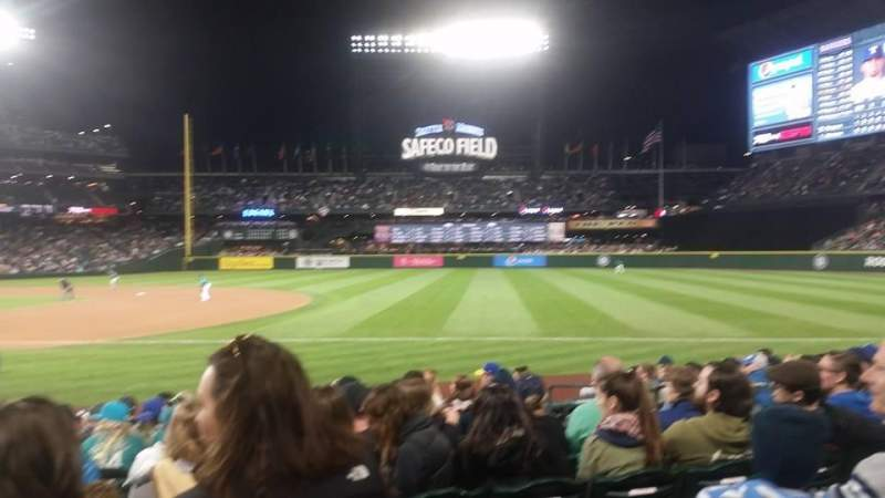 Seating view for Safeco Field Section 118 Row 12 Seat 10