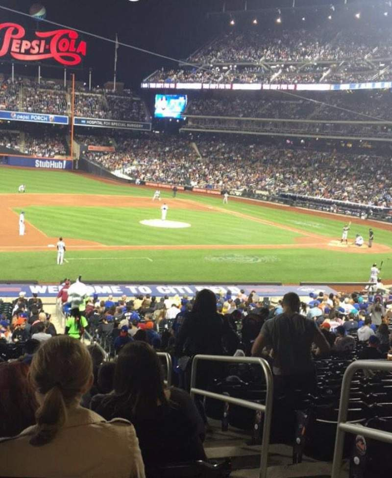 Seating view for Citi Field Section 123 Row 31 Seat 2