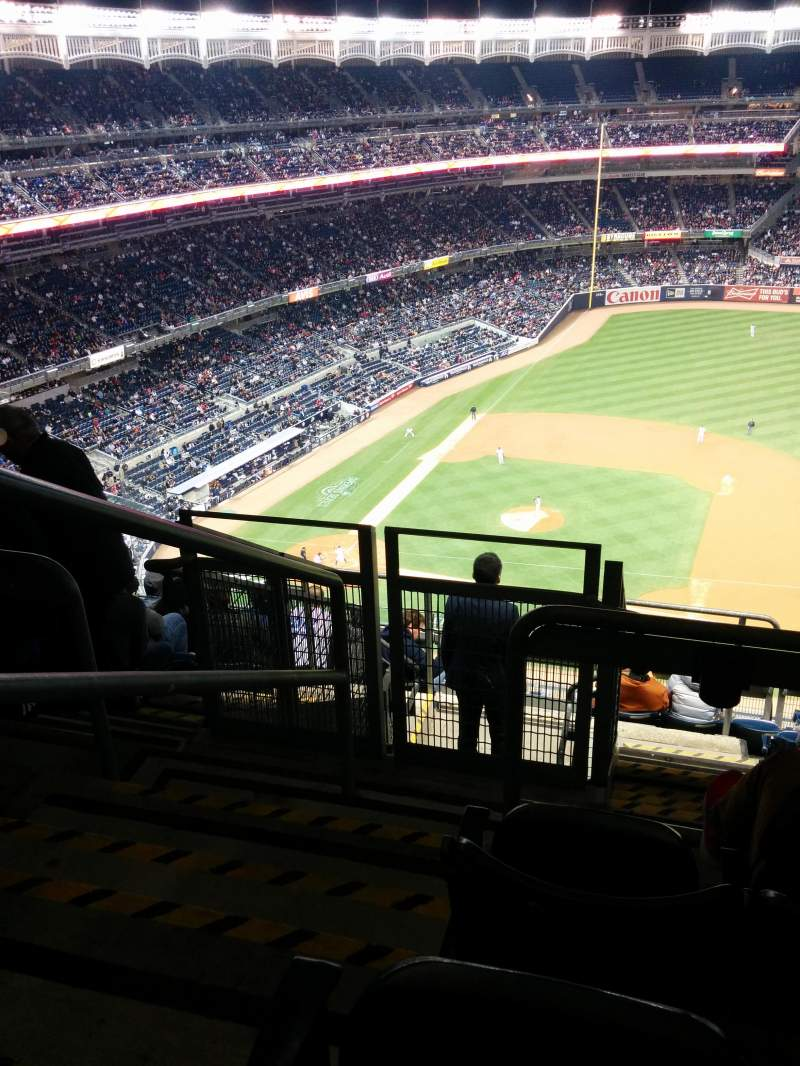 Seating view for Yankee Stadium Section 415 Row 7 Seat 24