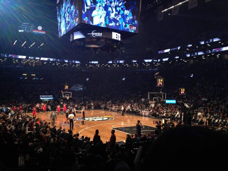 Seating view for Barclays Center Section 3 Row 10 Seat 7