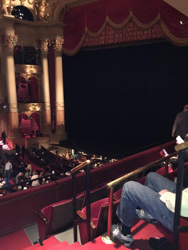 Seating view for Academy of Music Section Balcony C Row B Seat 34