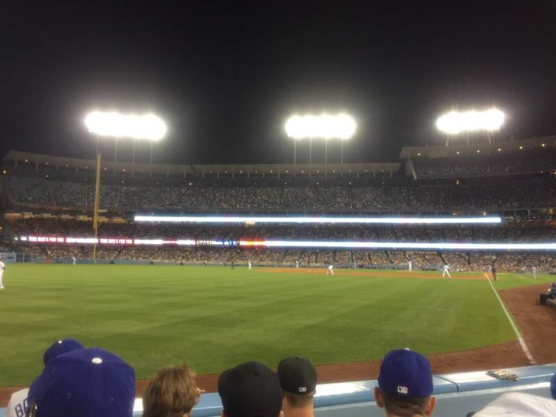 Seating view for Dodger Stadium Section 51FD Row C Seat 3