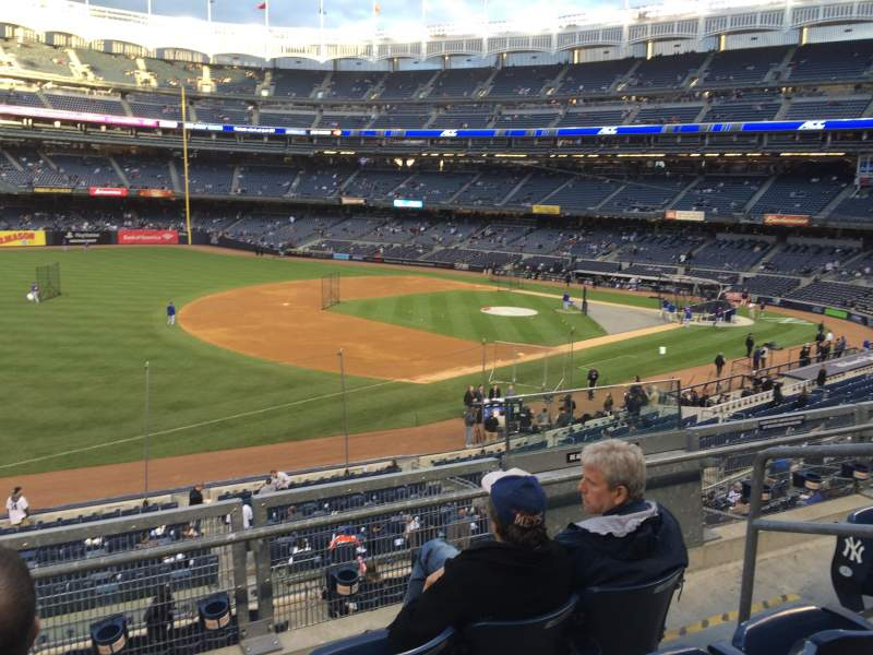 Seating view for Yankee Stadium Section 228 Row 2 Seat 5