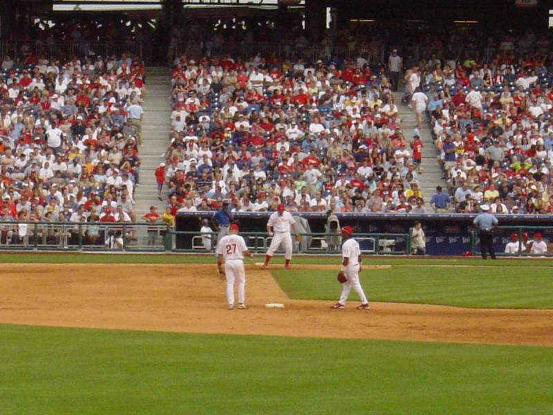 Seating view for Citizens Bank Park Section 143 Row 1 Seat 19