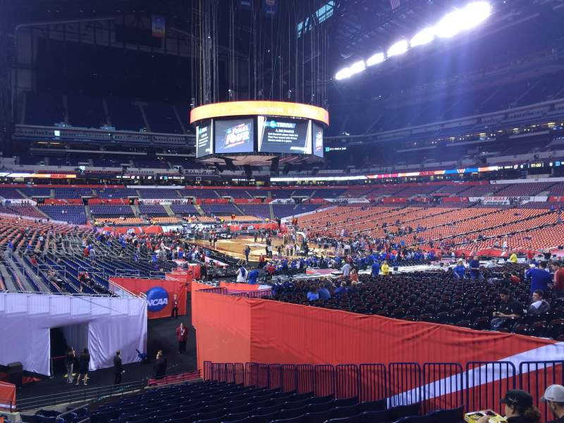 Seating view for Lucas Oil Stadium Section 103