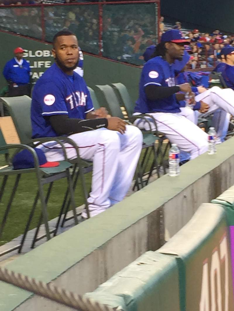 Seating view for Globe Life Park in Arlington Section 51 Row 1 Seat 4