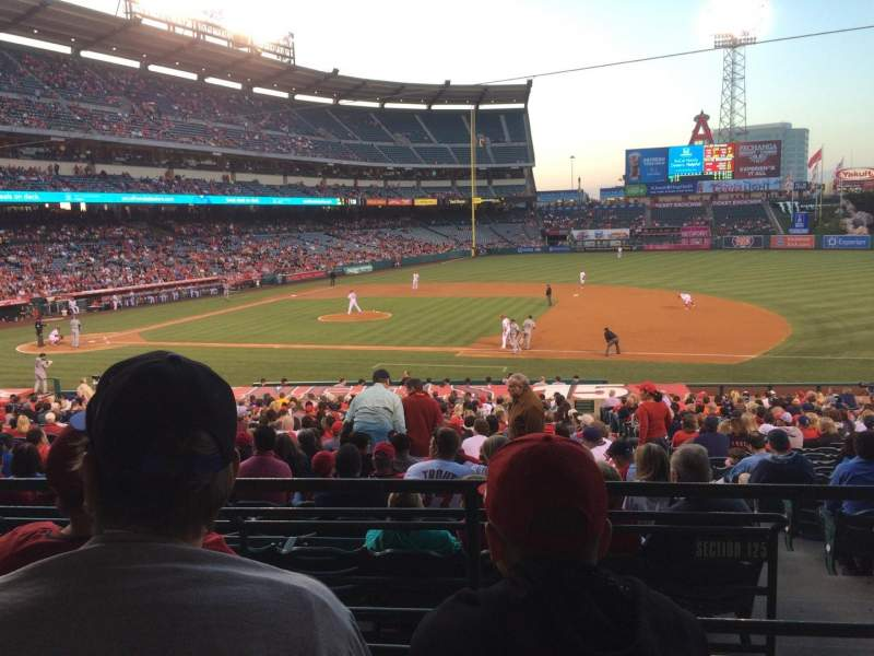 Seating view for Angel Stadium Section 224 Row C Seat 8