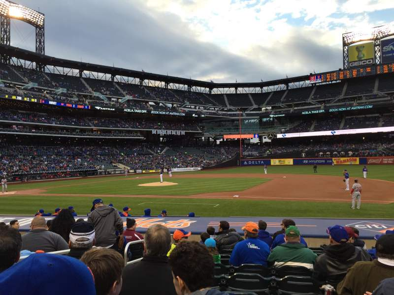 Seating view for Citi Field Section 112 Row 10 Seat 3