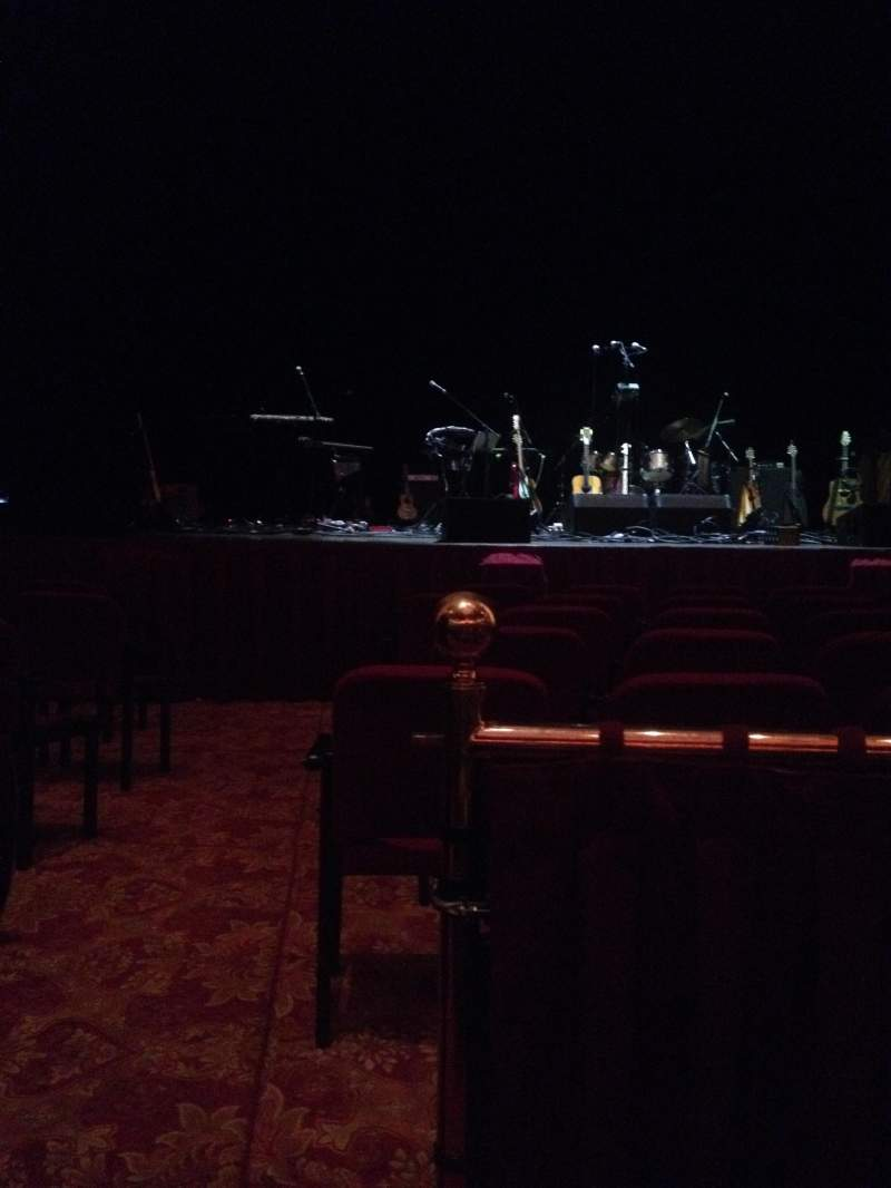Seating view for Wang Theatre Section ORCH C Row A Seat 103