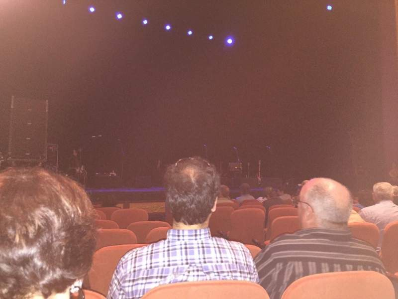 Seating view for National Theatre (DC) Section Orch Row H Seat 7