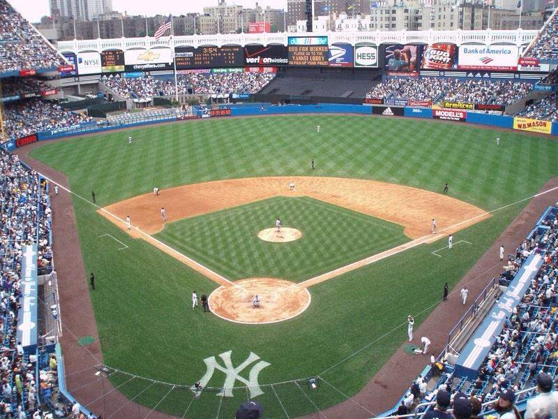 Seating view for Yankee Stadium Section 420a Row 10 Seat 1
