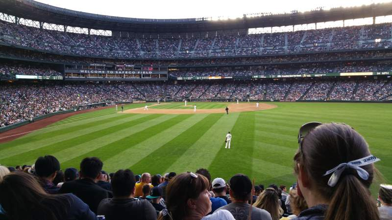 Seating view for Safeco Field Section 107 Row 37 Seat 3