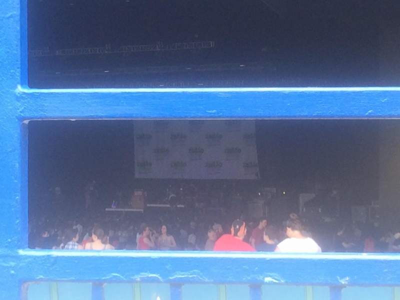 Seating view for BB&T Pavilion Section Lawn