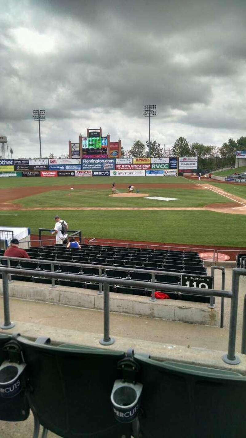 Seating view for TD Bank Ballpark Section 220 Row M Seat 1