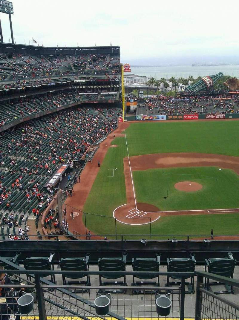 Seating view for AT&T Park Section 311 Row 3 Seat 15