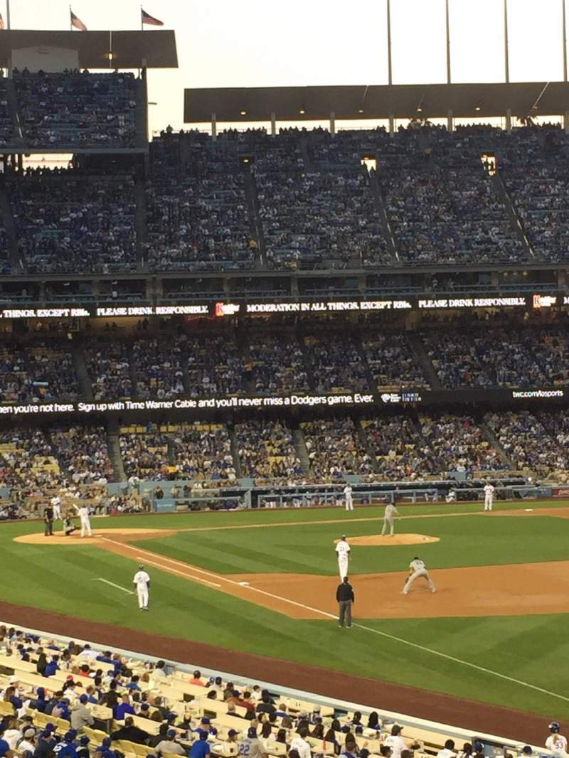Seating view for Dodger Stadium Section 160LG Row E Seat 5