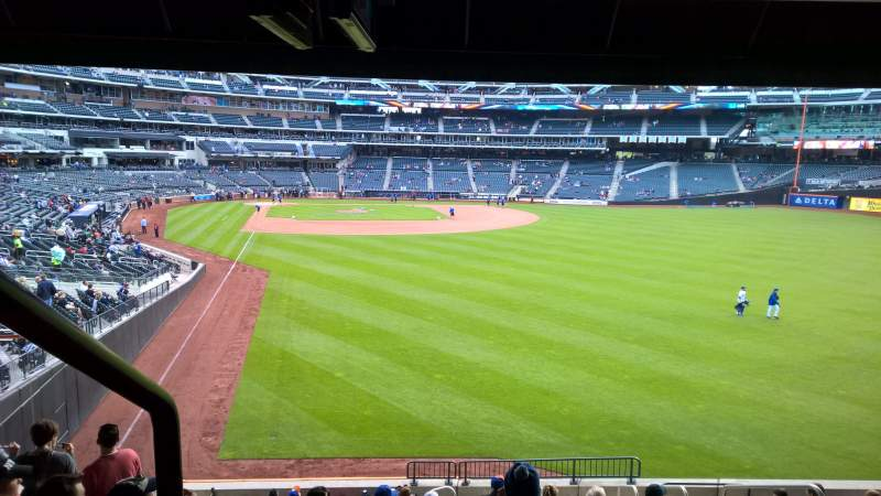 Seating view for Citi Field Section 103 Row 15 Seat 14