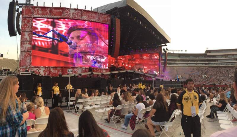 Seating view for Rose Bowl Section A6 Row 9 Seat 3