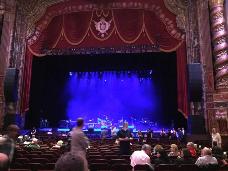 Seating view for Kings Theatre (Brooklyn) Section 2 Row T Seat 106