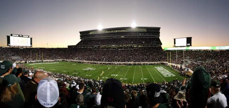 Seating view for Spartan Stadium Section 6 Row 44 Seat 35