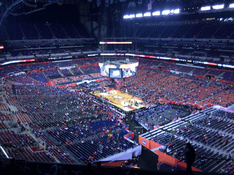Seating view for Lucas Oil Stadium Section 605