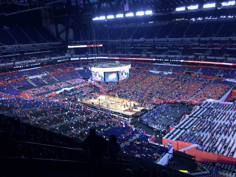 Seating view for Lucas Oil Stadium Section 607