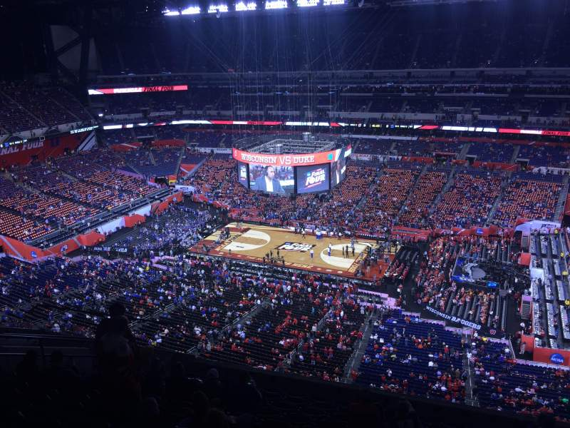 Seating view for Lucas Oil Stadium Section 637