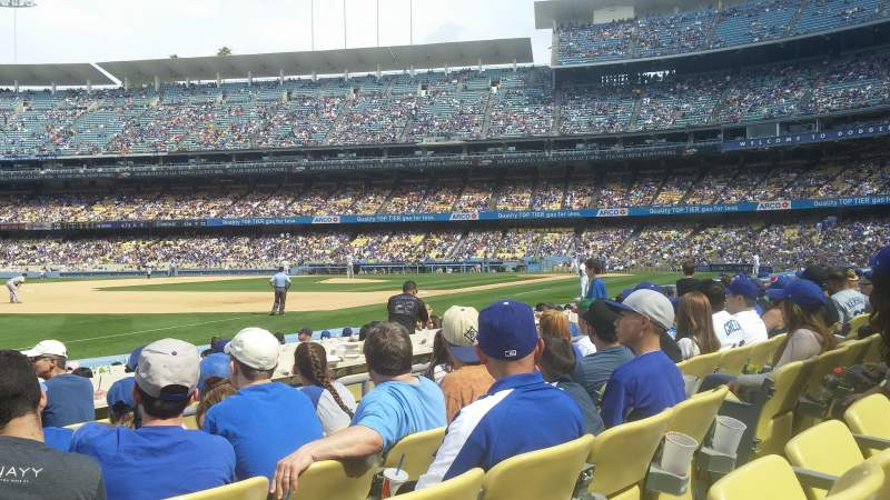 Seating view for Dodger Stadium Section 37fd Row e Seat 7