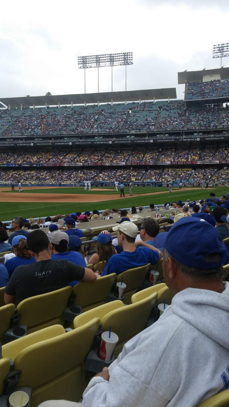 Seating view for Dodger Stadium Section 37fd Row e Seat 8