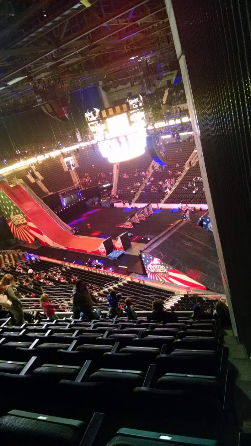 Seating view for Sprint Center Section 205 Row 9 Seat 1-3