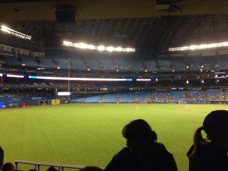 Seating view for Rogers Centre Section 136L Row 7 Seat 103