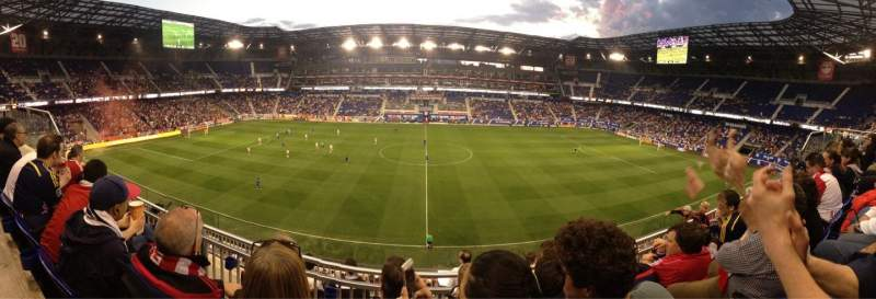 Seating view for Red Bull Arena Section 226 Row 7 Seat 16
