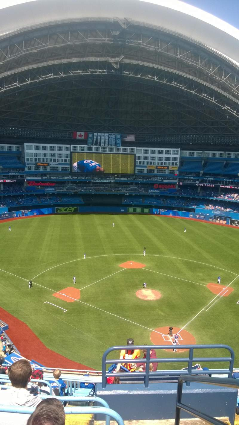 Seating view for Rogers Centre Section 525L Row 13 Seat 101