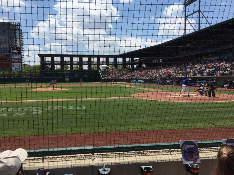 Seating view for Huntington Park Section 16 Row 3 Seat 5