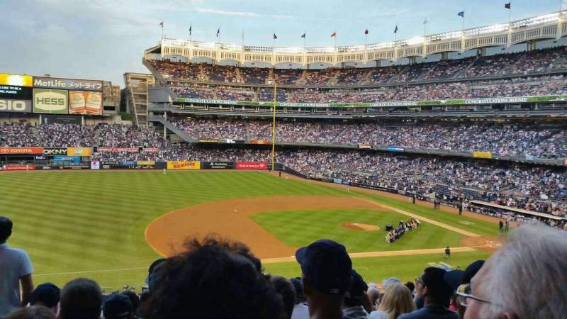 Seating view for Yankee Stadium Section 226 Row 14 Seat 18