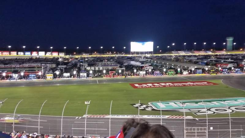 Charlotte motor speedway section chrysler c row 31 Charlotte motor speedway hotels nearby